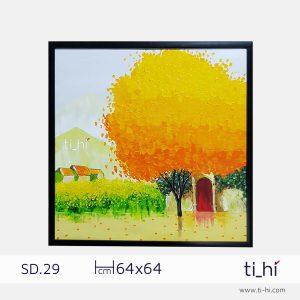 tranh son dau cay SD29 2