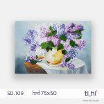 tranh son dau lo hoa chu nhat SD.109 2 1