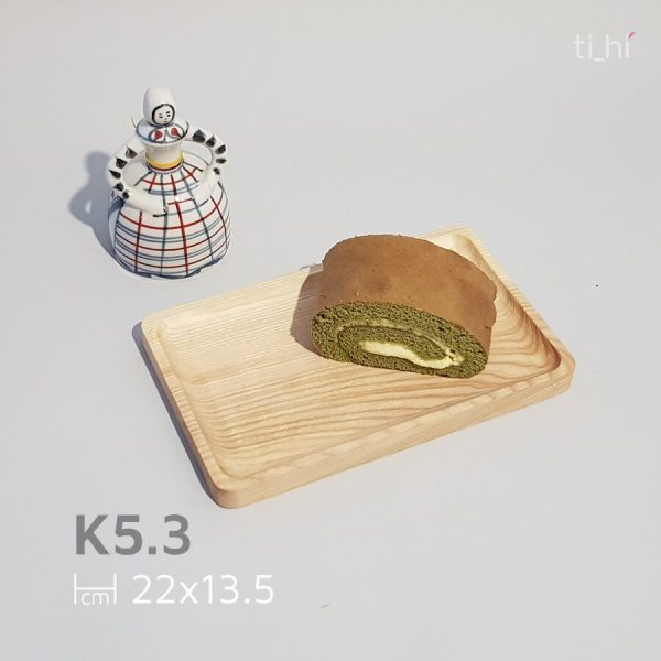 khay go decor chu nhat 22x13.5 600x600 - Khay gỗ decor cơ bản - 3 kích thước