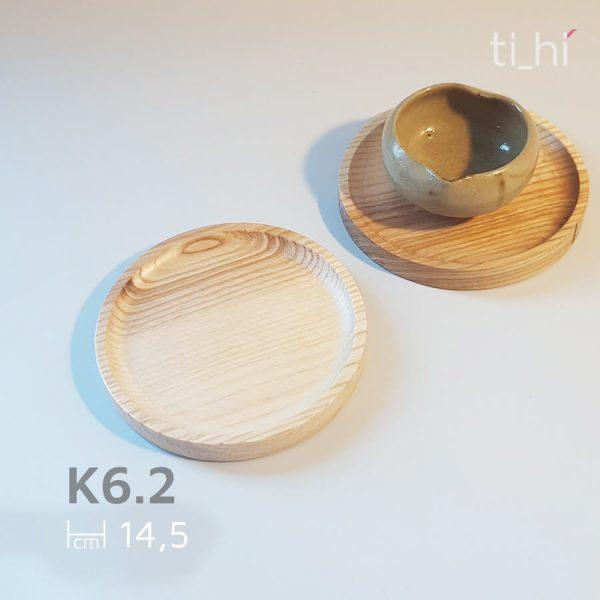 khay go tron 14.5cm 2