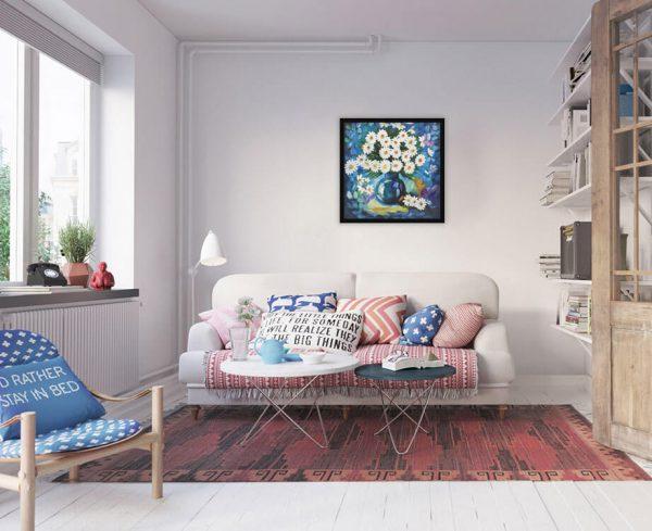 sdmock 600x489 - Tranh sơn dầu decor siêu đẹp 50x50