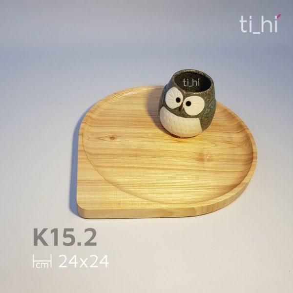khay go decor hinh giot nuoc k15 3 600x600 - Khay gỗ hình giọt nước 2 size 11cm và 24cm