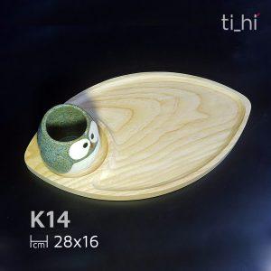 khay go hinh ca decor k14 2