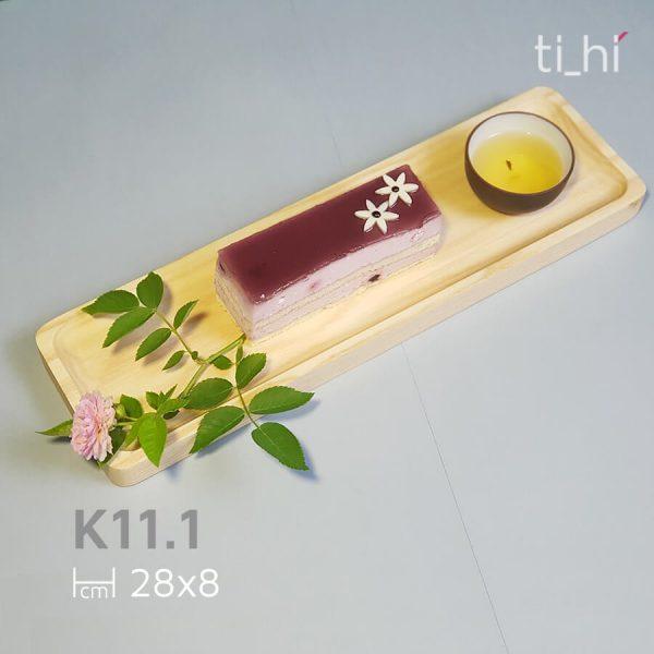 khay tra go decor tihi k11 1 3 600x600 - Khay trà gỗ decor 28x8cm