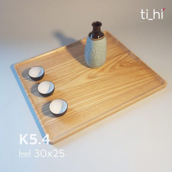 k54 600x600 - Khay gỗ size lớn 30x25cm đa năng