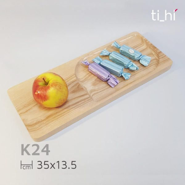 khay chu nhat thot go chu nhat 2 600x600 - Thớt gỗ tự nhiên thông minh 35x13.5cm