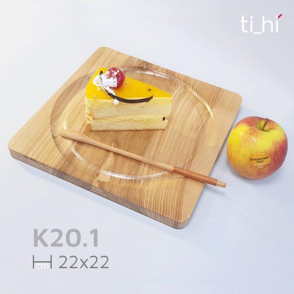 khay dot 6 201 1 600x600 - Khay gỗ khoét rãnh tròn trên mặt 32x20cm và 22x22cm