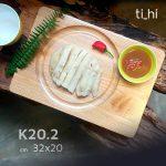 khay dot 6 202 1 150x150 - Khay gỗ khoét rãnh tròn trên mặt 32x20cm và 22x22cm