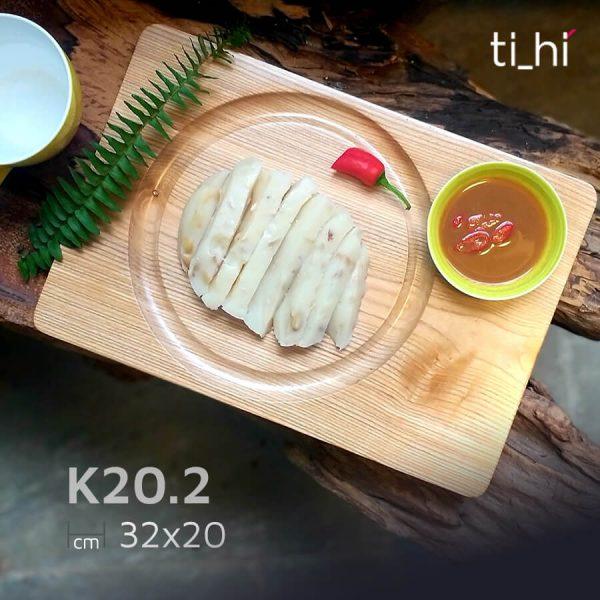 khay dot 6 202 1 600x600 - Khay gỗ khoét rãnh tròn trên mặt 32x20cm và 22x22cm