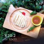 khay dot 6 202 2 150x150 - Khay gỗ khoét rãnh tròn trên mặt 32x20cm và 22x22cm