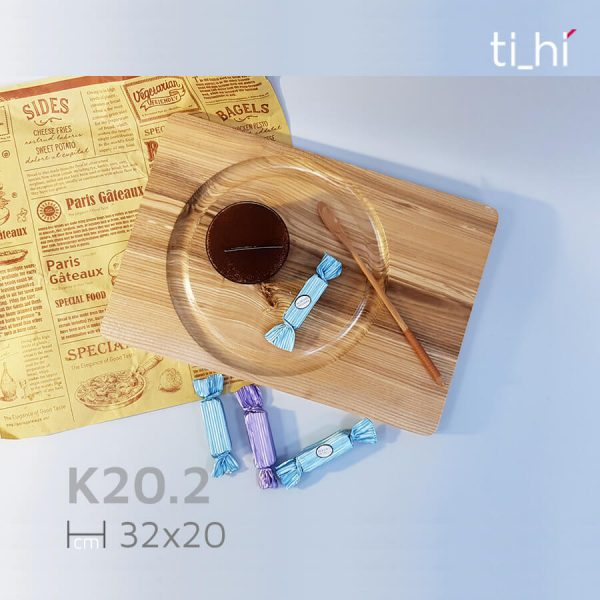 khay dot 6 202 3 600x600 - Khay gỗ khoét rãnh tròn trên mặt 32x20cm và 22x22cm