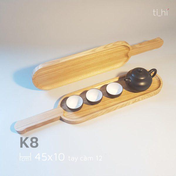 khay go bau duc co tay cam 45x10cm 3 600x600 - Khay gỗ có tay cầm bày đồ ăn 45cm