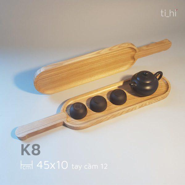 khay go bau duc co tay cam 45x10cm 4 600x600 - Khay gỗ có tay cầm bày đồ ăn 45cm