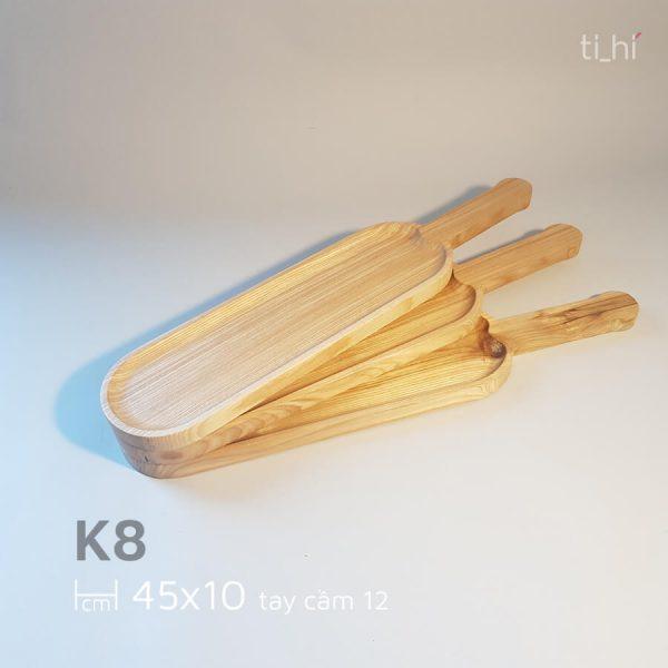 khay go bau duc co tay cam 45x10cm 5 600x600 - Khay gỗ có tay cầm bày đồ ăn 45cm