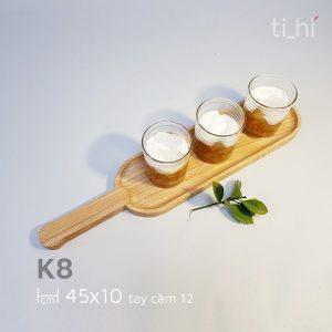 khay go bau duc co tay cam 45x10cm 6 300x300 - Khay gỗ có tay cầm bày đồ ăn 45cm